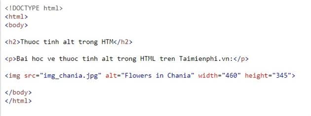the img in html 2