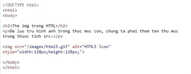 the img in html 12