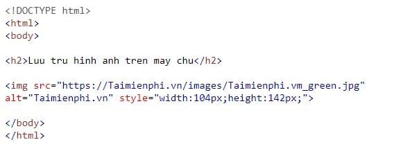 the img in html 14