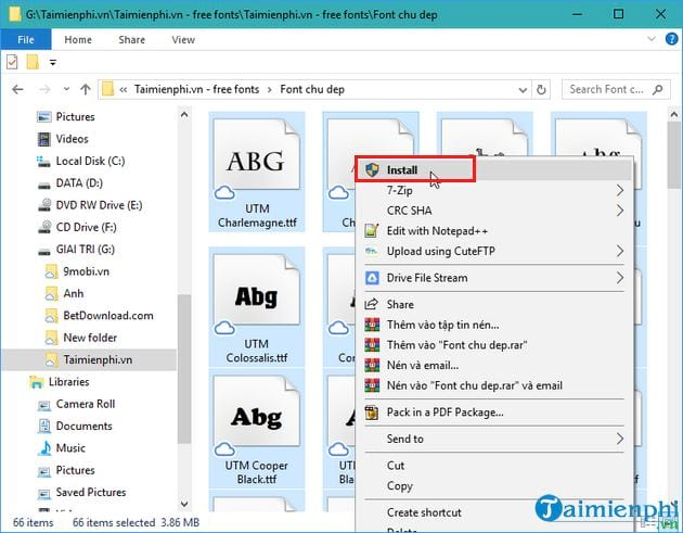 Additional fonts for audio files for powerpoint 3