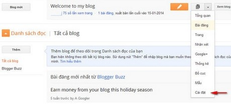 Add comments in blogger