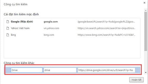 add google drive search right on chrome browser address bar 4