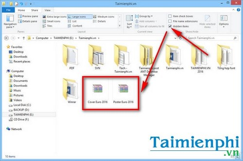 How to display security files in Windows 7
