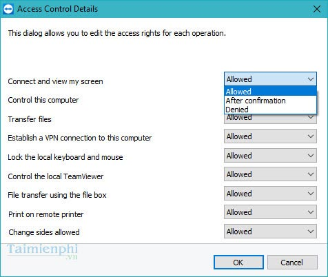 Design the control panel teamviewer