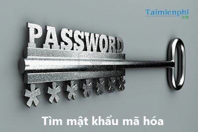 Search for the password on the Windows laptop