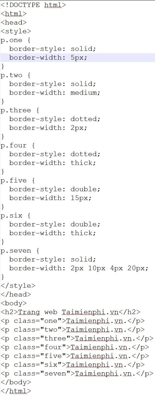 border refined in css 3