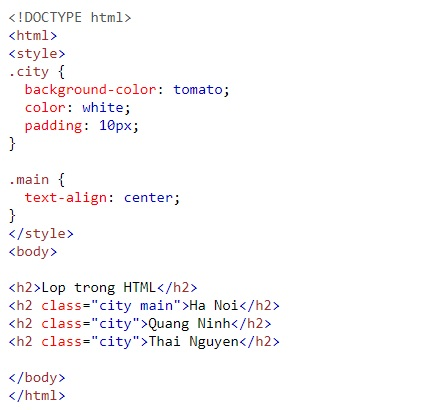 Crystal class in html 7