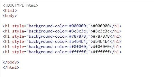 color filter in html 17