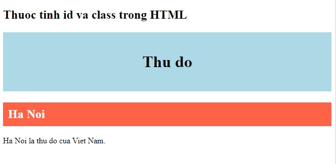 id idioms in html 4