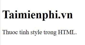 style style in html 9
