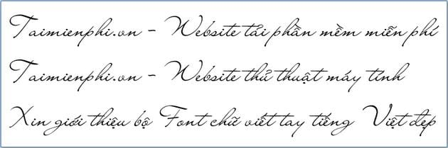 Install and use Vietnamese fonts with Vietnamese fonts 3
