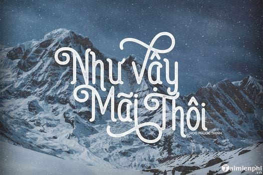 Download many beautiful Vietnamese fonts 2