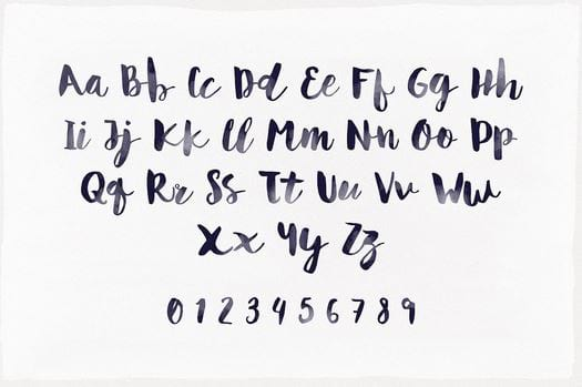 Tong hop font many beautiful Vietnamese 10