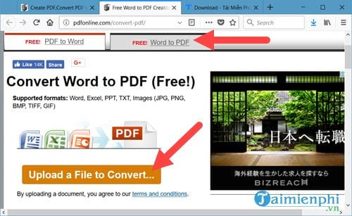 top 4 websites that convert word to pdf online for free 7
