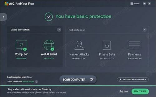 antivirus software avg
