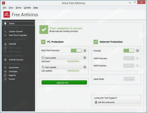 antivirus software avira