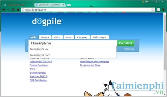 Search results to replace the most effective Google browser