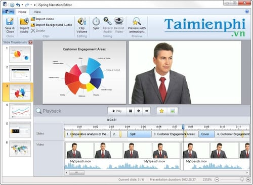 software for e-learning delivery