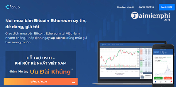 Top websites to buy and sell bitcoin in Vietnam. 5