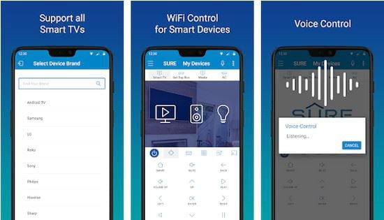 controls the phone with free ios