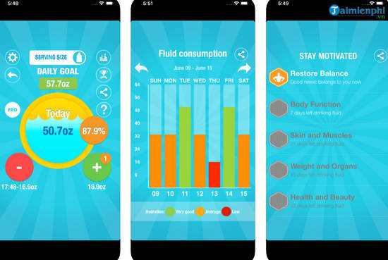 top best drinking water music apps 4