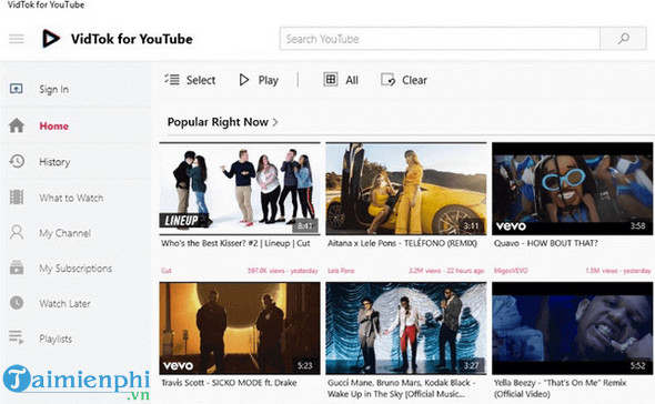 top youtube apps for windows 10 7