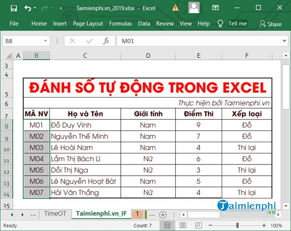 automatic file recognition in Excel