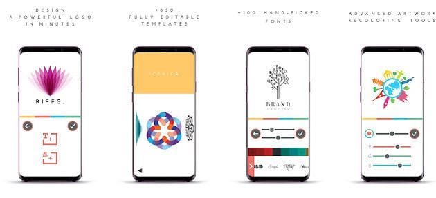 Designing the best logo on your phone 4
