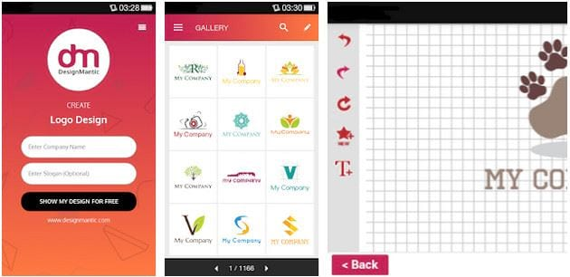 Design the best logo on your phone 5