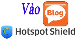 on the blog is blocked by hotspot shield