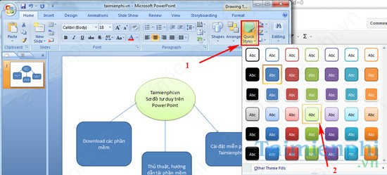 check the box number in powerpoint