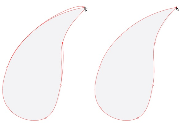 Curve and correct curves with curvature curves in illustrator 3