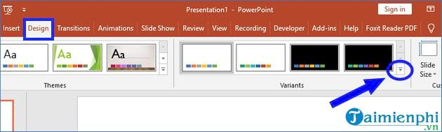 How to change theme in powerpoint 2