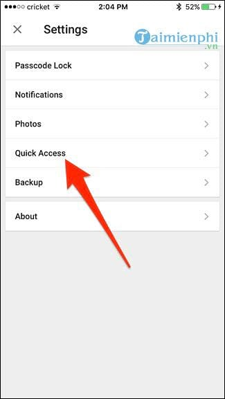 Show the quick and quick password on google drive 8