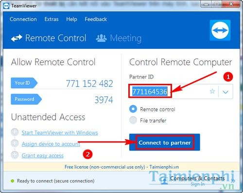 using teamviewer quicksupport to connect to a mobile phone 2