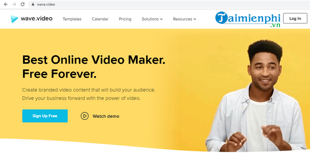 Main web of online videos