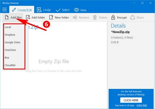 how to, the winzip stage on windows 10