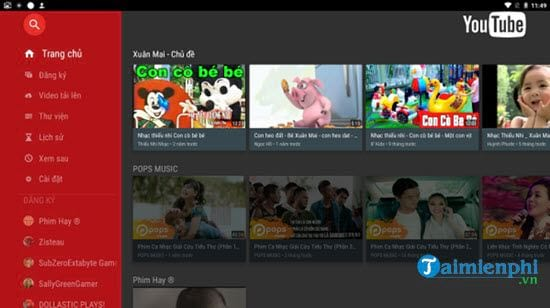 how to watch youtube on quang cao on android box smarttv 9