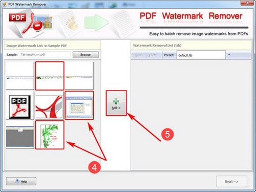 Remove your logo from the pdf version using the PDF watermark remover