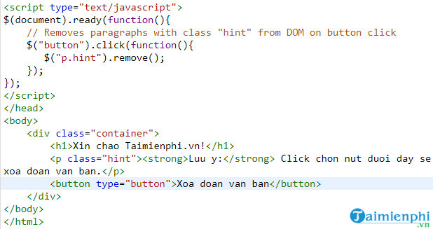 remove components and chemicals in jquery 3