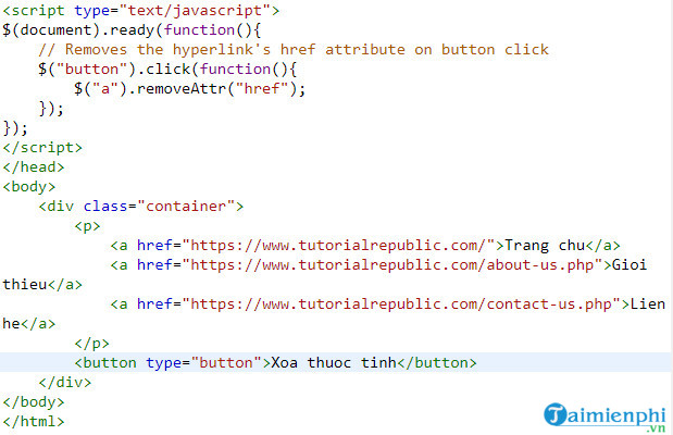 delete parts and fragments in jquery 9