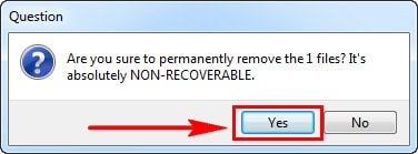 Delete the error file on the PC using ccleaner