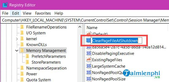 Delete the pagefile file to complete the installation of Windows 10 10