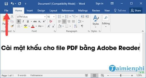 How to create a PDF file with fastest state 2