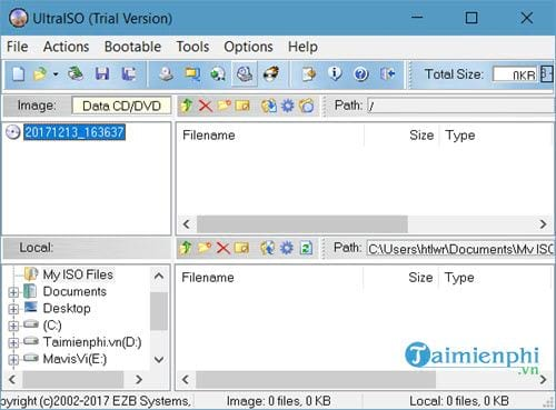 Guide to create and edit ISO files with Ultraiso 2