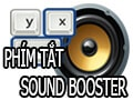 Summary of shortcut Sound Booster, Hotkey uses Sound Booster