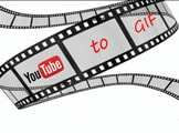 Create animations, GIFs from online YouTube videos