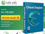Speed up web browsing on Coc Coc with Cheat Engine
