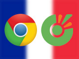 How to fix Chrome and Coc Coc download errors in French, showing the French interface