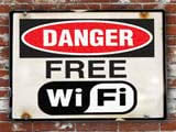 Using public Wi-Fi please apply the following personal information protection plan